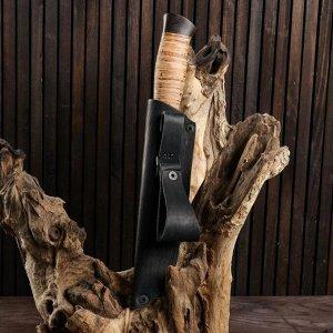 Нож охотничий «Персидский» Н17, ст. ЭИ107, рукоять текстолит, береста, 25 см