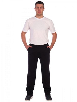 Брюки Практичные, утепленные мужские брюки выполнены из качественного материала футера с начесом облегченного, плотностью 200 гр/м2, состав: хлопок 100%.