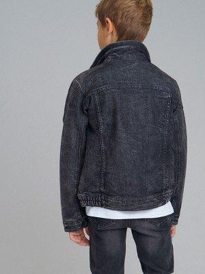 Куртка текстильная джинсовая для мальчиков