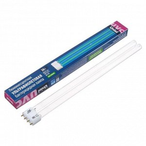 Лампа ультрафиолетовая бактерицидная Uniel, 2G11, 36 Вт, 253.7 нм, 220 В