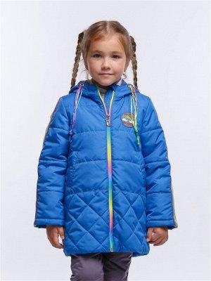 Радуга 12П24 Пальто для девочек, василек