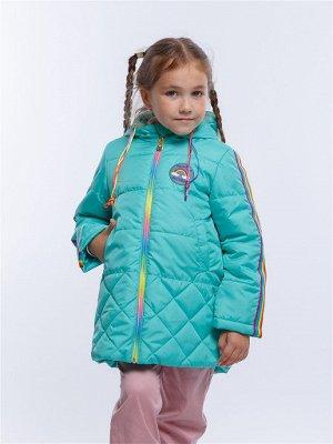 Радуга 12П24 Пальто для девочек,  мята