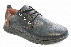 Туфли А8020-2 черн/кор