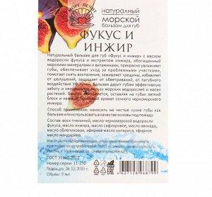 """Бальзам для губ """"МореЛечит"""" Фукус и инжир, 5 мл"""