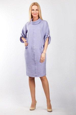 """Платье женское """"Леди"""" модель 377/7 сиреневый"""