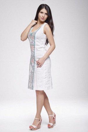 """Сарафан женский """"Маленькое платье"""" модель 401/1 белый"""