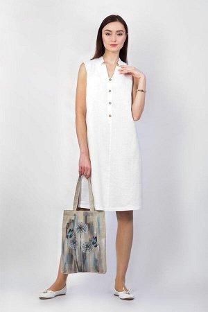 Платье женское Верона миди модель 322/3 белое