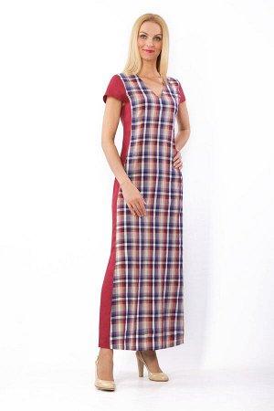Платье женское Калейдоскоп модель 329/2 клюква