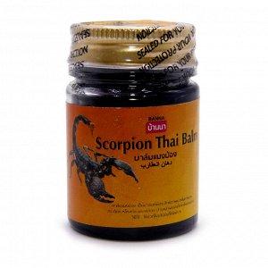 Тайский Бальзам черный Scorpion Balm Banna при переломах болях в суставах лечении артрита