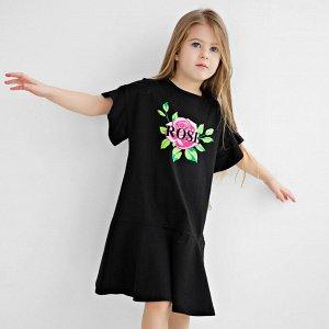 Платье Количество в упаковке: 1; Артикул: BN-157В21-161; Цвет: Чёрный; Ткань: Кулирка; Состав: 100% Хлопок; Цвет: Чёрный Скачать таблицу размеров                                                 Плать