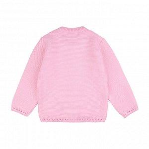 Кофта ДД Количество в упаковке: 1; Артикул: BN-702К-724-Р; Цвет: Розовый; Ткань: Пряжа; Состав: 50% хлопок 50% акрил; Цвет: Розовый   Молочный Скачать таблицу размеров