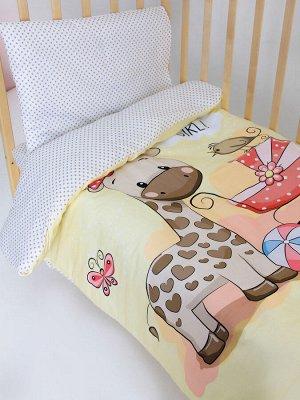 Комплект постельного белья Панно для девочки Ясли