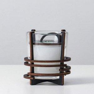Ароматическая свеча в стекле с декором MINT GUM, 10х9,5 см, 150 гр 6770865