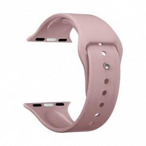 Ремешок Band Silicone для Apple Watch 38/40 mm, силиконовый, розовый, Deppa