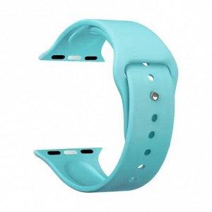 Ремешок Band Silicone для Apple Watch 38/40 mm, силиконовый, мятный, Deppa