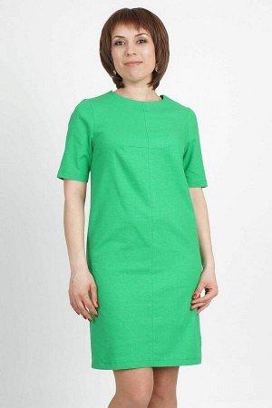 Платье Платье из льна. Дополнено внутренними боковыми карманами. Застежка-молния на спине. Цвет: зеленое яблоко Состав: 95% лен, 5 % эластан ДИ 46 р. 95 см., Размеры с 44 по 62. Рост модели 164 см.,