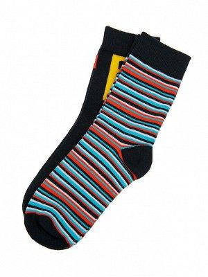 Носки трикотажные для мальчиков, 2 пары в комплекте