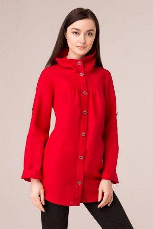 """Жакет женский """"Дали"""" модель 714 ярко-красный"""