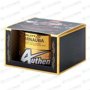Полироль кузова Soft 99 Authentic Premium, с воском карнауба, с защитным и водоотталкивающим свойством, банка 200г (+губка), арт. 10162