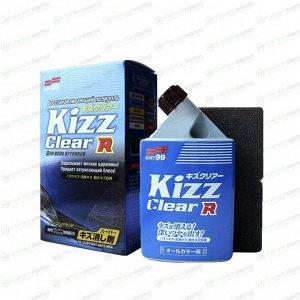 Полироль кузова Soft 99 Kizz Clear, для восстановления лакокрасочного покрытия и придания блеска, бутылка 270мл (+губка), арт. 10397