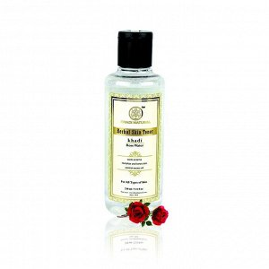 Pure Rose Water Skin Toner/ Тоник для лица Розовая вода, 210 мл.