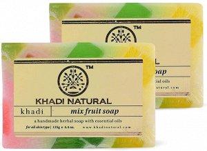 "Khadi MIX FRUIT SOAP/ Кхади ""Фруктовый Микс"""