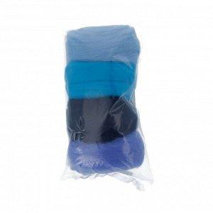 Набор шерсти для валяния цвет Ассорти №4
