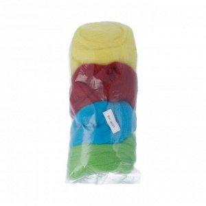 Набор шерсти для валяния цвет Ассорти №5