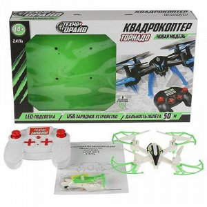 """Квадрокоптер """"Технодрайв"""" Торнадо, со светом, USB З/У, кор 43*28*8 см"""