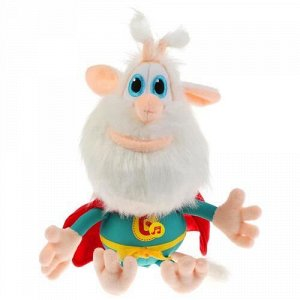 """Мягкая игрушка """"Мульти-пульти"""" Буба супер-герой,20 см, муз.,пак"""