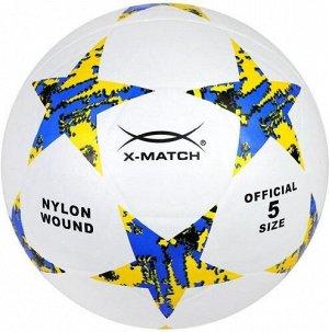 Мяч футбольный  X-Match ,резина