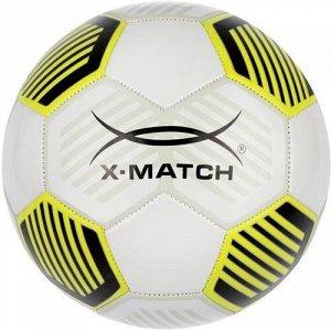 Мяч футбольный X-Match ,1 слой, PVC