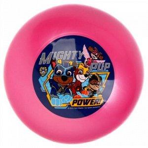 """Мяч """"Играем вместе"""" 23 м, с наклейкой, цвет в ассорт, сетка"""