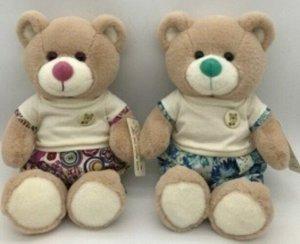 Мягкая игрушка Медвежонок в шортах и футболке,23 см,