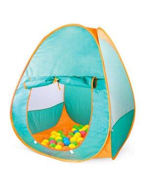 """Палатка игровая """"Двухцветная"""" 90*90*90 см, в сумке"""