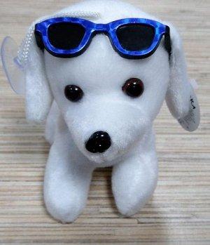 Мягкая игрушка Собачка в очках, в ассорт. 12 см