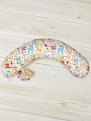 """Подушка для беременных """"AmaroBaby"""" 170*25см. Жирафики"""