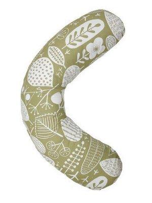"""Подушка для беременных """"AmaroBaby"""" 170*25см. Листья"""