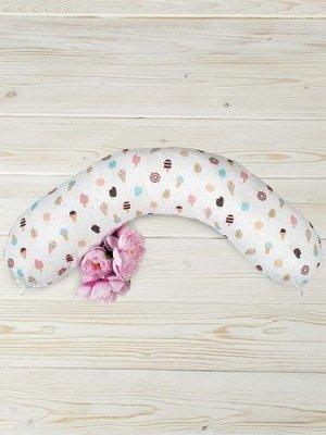 """Подушка для беременных """"AmaroBaby"""" 170*25см. Эскимо"""