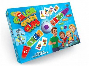 Игра настольная  Color Crazy Cups ,39*6*29 см