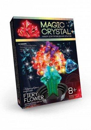 """Набор для опытов """"Magic Crystal"""" Огненный цветок ,13,5*2,5*18 см"""