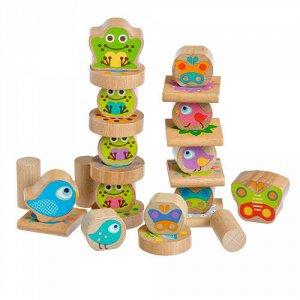Игрушка деревянная Балансир Маленькие друзья