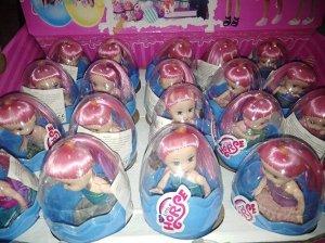 Кукла-сюрприз в яйце с аксесс.