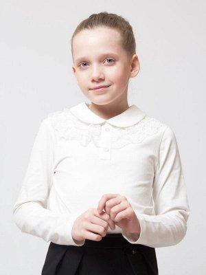 Блузка замечательная, трикотаж с кружевной отделкой!!!