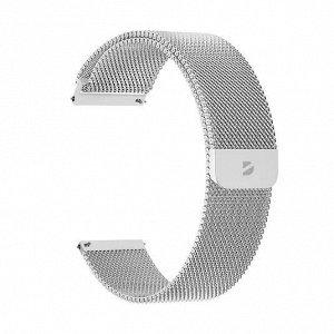 Ремешок Band Mesh универсальный, 20 mm, нержавеющая сталь, серебристый, Deppa