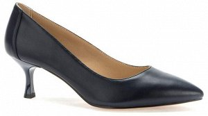 907034/02-04 т.синий иск.кожа женские туфли (В-Л 2021)