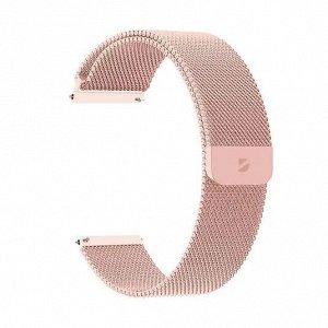 Ремешок Band Mesh универсальный, 20 mm, нержавеющая сталь, розовое золото, Deppa