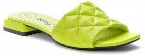 917008/04-04 салатовый иск.кожа женские туфли открытые (В-Л 2021)