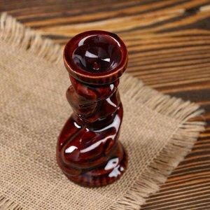 """Подсвечник """"Дева"""". для одной свечи. глазурь. 12.8 см"""
