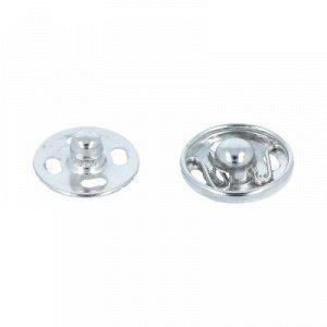 Кнопки пришивные металл 12мм 10 комплектов